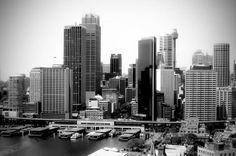 Sydney australia skyline.