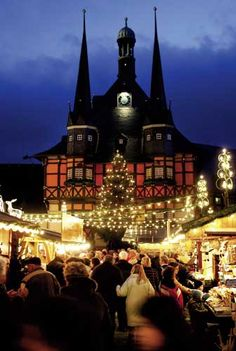 Quedlinburg Germany, UNESCO World Heritage city. 1,000 years of culture! Can't go wrong with a track record like that!