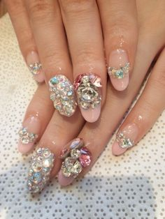 Pretty but it's a lot going on. I love Deco nails tho..
