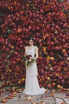Autumn Country House Wedding Inspiration | Love My Dress® UK Wedding Blog