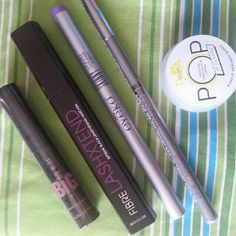 Brand makeup lot Includes eyeliner, mascara and a pop makeup remover wipe by Tyra banks Makeup