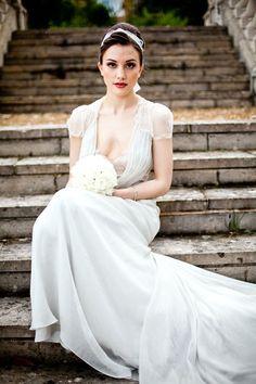 Miss Bush Bridalwear: Jenny Packham Aspen - Fetcham Park Shoot.. Styling by…