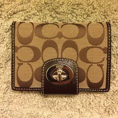 Coach Wallet Great condition! Used once for a short period. Coach Bags Wallets
