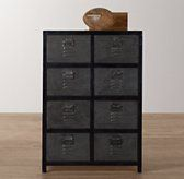 Restoration Hardware Baby & Child's Vintage Locker Tall Dresser:As sturdy as the all-American originals that inspired it, the Vintage Locker Collection has authentic details like vented drawer fronts and an antiqued finish for a timeworn feel.