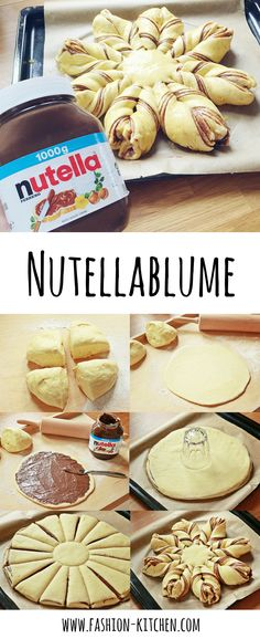 Nutella Flower - Fashion Kitchen - Nutella flower, Nutella flower baking, Nutella flower tutorial, yeast dough, the perfect yeast doug - Yeast Cake Recipe, Best Pancake Recipe, Easter Recipes, Baby Food Recipes, Cake Recipes, Snack Recipes, Food Cakes, Dessert Nouvel An, Easy Smoothie Recipes
