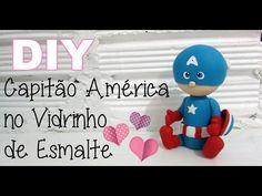 (DIY) Reciclando Vidrinho de Esmalte #1 - Unicórnio (Volta as Aulas - Back to School) - YouTube
