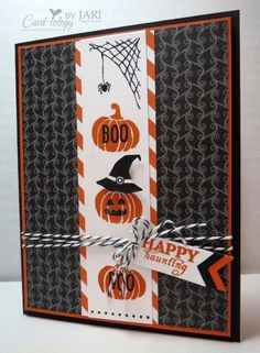 Happy Scenes and September 2015 Paper Pumpkin Card-iology by Jari