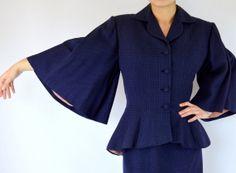 Lilli Ann Bell Sleeves Etsy $875