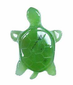Jade Turtle Figurine