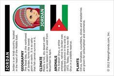 Girl Scout Brownies, A World of Girls Journey: Jordan