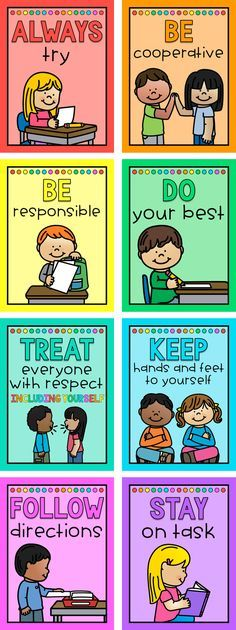 Classroom rules are essential for a successful classroom. These classroom rules posters will help your students clearly understand the classroom expectations. Classroom Rules Poster, Classroom Board, Classroom Behavior, Classroom Design, Classroom Organization, Kindergarten Classroom Rules, Organization Ideas, English Classroom Posters, Class Rules Poster