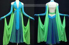 plus size ballroom dance clothings