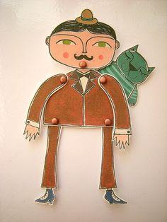 Paper dolls no Brasil! *.*
