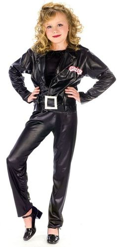 girl's costume: grease cool sandy-small