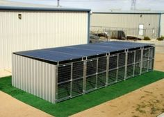 Multiple Run Kennels for Backyard or Commercial Operations