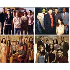 Four awesome t.v. shows, courtesy of Joss. Buffy, Angel, Firefly, and Dollhouse.