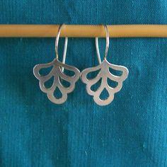 Sterling Silver Earrings Earrings in Silver Measure: 1, 5, 5 cm approx.
