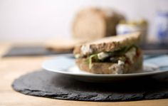 set of two round slate place mats by slated   notonthehighstreet.com
