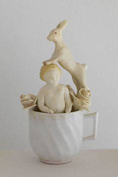 (via bonnie marie smith :: ceramic sculpture and collage :: ceramics)