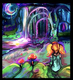 Theres a whole new world we live in by CaramelFrog on DeviantArt
