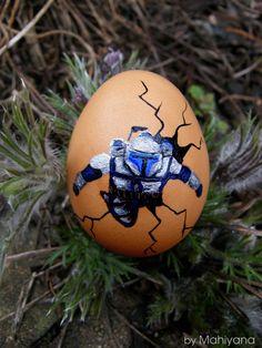 Jango Fett poping from Easter egg (Star Wars)