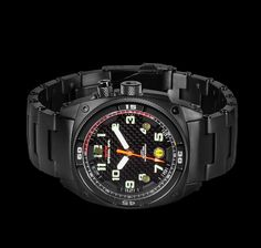 MTM Black Falcon Military Watches For Men In Tactical Units
