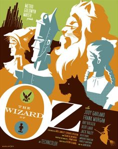 Modern Vintage Cult Movie Posters      The Wizard of Oz