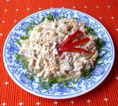 Ševcovský salát :: Domací kuchařka - vyzkoušené recepty Slovak Recipes, Pasta Salad, Grains, Recipies, Food And Drink, Rice, Cooking Recipes, Treats, Chicken