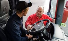 We offer courses tailored for both entry-level and advanced #truck_drivers.