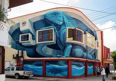 WD street art - for Aruba Art Fair - Sint Nicolaas, Aruba - 2017