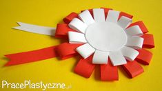 Jak zrobić prosty kotylion z papieru? Paper Crafts For Kids, Preschool Crafts, Diy And Crafts, Arts And Crafts, Polish Independence Day, Independence Day Decoration, Smash Book Inspiration, Art Projects, Projects To Try