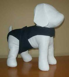 Washable Overall Dog Diapers - 9 Designs