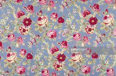 Stock Photo : Halifax Rose Antique Floral Fabric