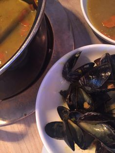 Mussels, mussels, mussels - try them at Wonnemeyer in Wenningstedt/Sylt.