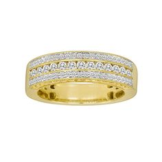 14k Gold 1/2-ct. T.W. IGL Certified Diamond Wedding Ring, Women's, Size: 7.50, White