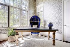 Home Design Trends for 2015: Wallpaper is Making a Comeback