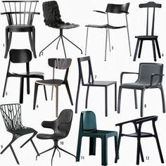 shoppingvisadron: little black chairs