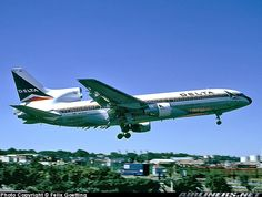 Delta Lockheed L1011-385-1 Tristar.  Long retired, but still one of my favorite jetliners of all time.