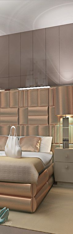 Glamorous Master Bedroom - By hillhouseinteriors - Pin By LoLo