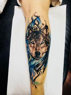 Best Wolf Tattoos In the World Wolf Tattoo Forearm, Wolf Tattoo Back, Small Wolf Tattoo, Wolf Tattoo Sleeve, Lion Tattoo, Sleeve Tattoos, Tattoo Wolf, Wolf Tattoos Men, Animal Tattoos