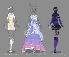 Custom Outfits #12 by Nahemii-san.deviantart.com on @DeviantArt