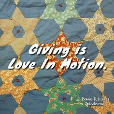 Do more. Give more. Love more. Keep tge momentum going! Vintage star quilt shared by Kevin @photokevin74 . . #quilt #quilting #patchwork #quiltville #bonniekhunter #vintagequilt #antiquequilt #deepthoughts #wisewords #wordsofwisdom #quiltvillequote #quote #inspiration #scrapquilt