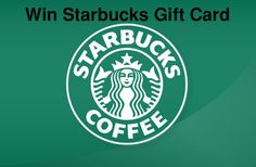Win a Starbucks gift card - Giveawaysdailyonline Giveawaysdailyonline