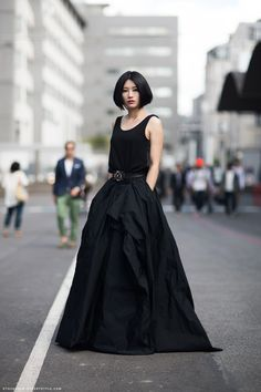 black dress http://carolinesmode.com/stockholmstreetstyle/art/247126/black_dress/