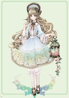 by Chiori (alice in wonderland)