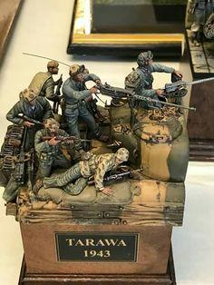 Pin by Louis Amezcua on Military Dioramas Military Diorama, Military Art, Lego Soldiers, Military Action Figures, Model Tanks, Military Modelling, Fantasy Miniatures, Panzer, Gi Joe