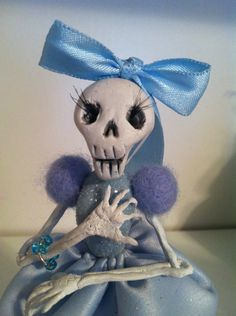 Deadutante #skeleton #doll #crafts #Halloween