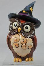 Jim Shore 'Owl Witch' Adorable Mini Figurine  #4041143  NEW!