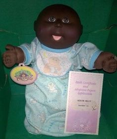 1990 Cabbage Patch Kid AA Preemie Winston Wants To Be A Senator When He Grows Up