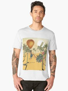 ' Premium T-Shirt by HeartActivation Eat Fruit, Weird And Wonderful, Large Prints, Tshirt Colors, Art History, Kangaroo, Creative Design, Farmer, Turning